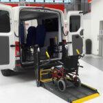 Trasporto disabili: furgoni compatti e di design con allestimenti speciali per un viaggio piacevole
